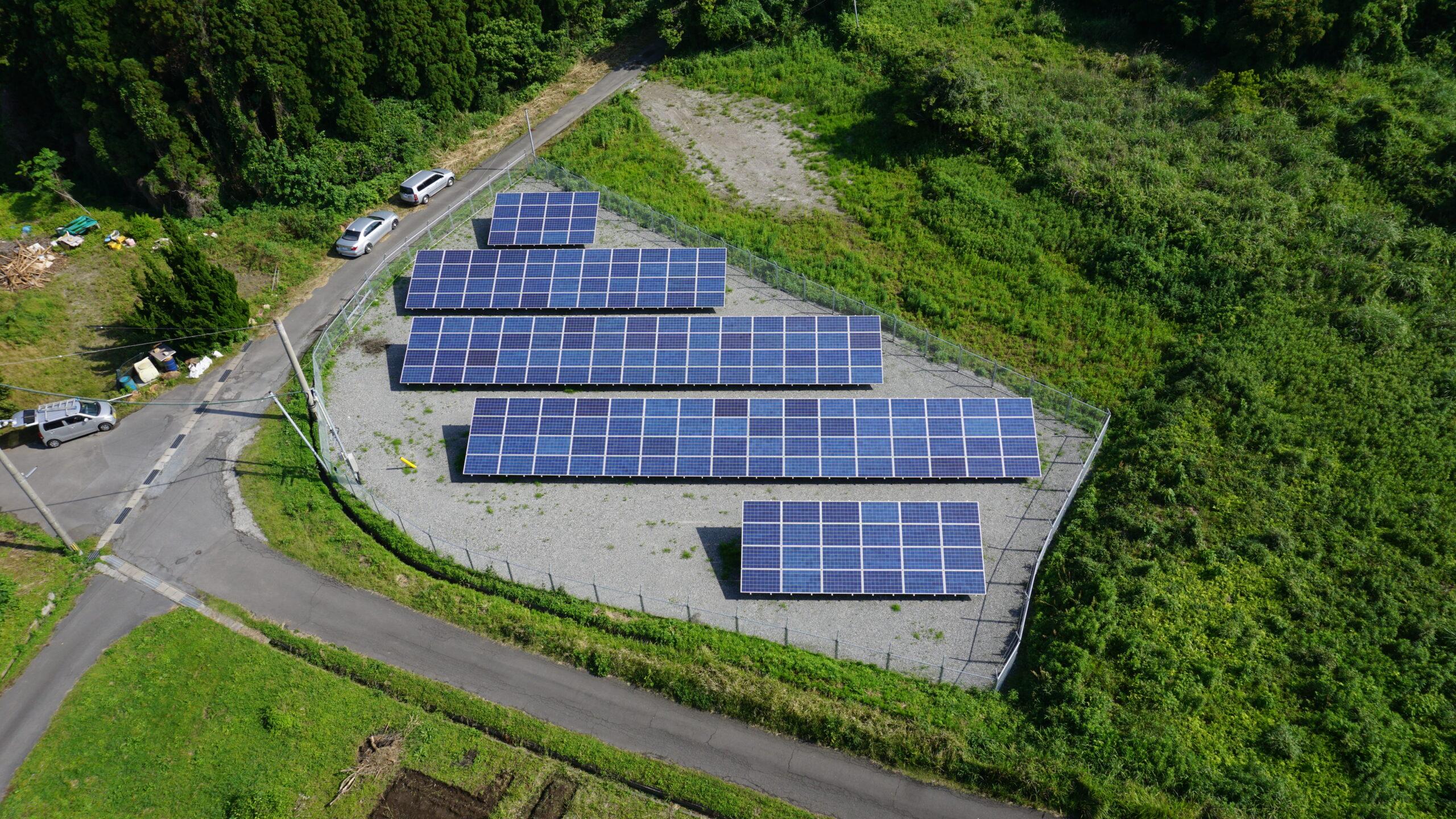 ミタデン日置第一太陽光発電所
